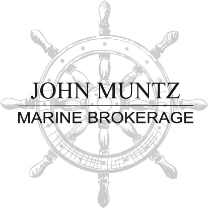 John Muntz Marine Brokerage wheel